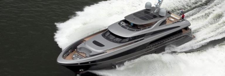 Amsterdam Shipyards - Lucia M. yacht